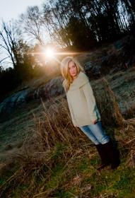 Senior portrait session Spartanburg SC